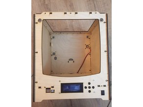Ultimaker body for Anet A8 motherboard and display