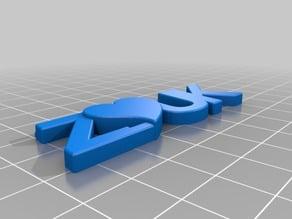 ZOUK 3D Text