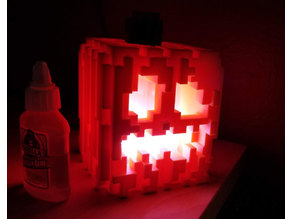 Remix (BIG version) of the Snap-Together Mini Minecraft Jack-O-Lantern