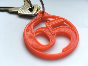 Key Fob for your '65 classic car
