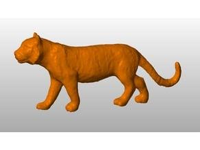 Tiger toy scan