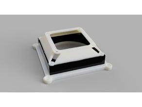 Wallmount for 140mm Fan for an Intel NUC (NUCi5BEK)