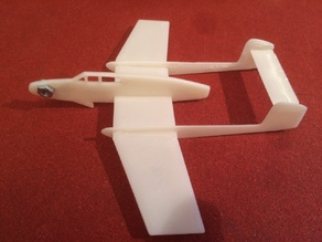 SAAB 21R slingshot airoplane