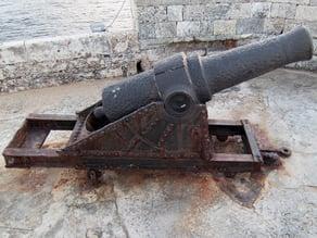 Cannon at Morro Castle - Havana, Cuba