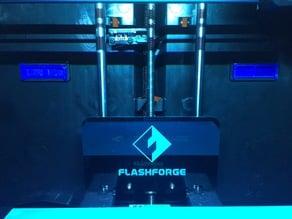 Flashforge Creator Pro 2016 Spool Holder Hole Plug