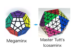 Master Tutt's Icosaminx modified from megaminx