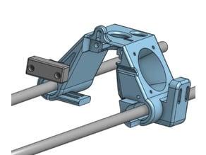 Anet A6 x- Carriage for E3D Clone | Fan Update