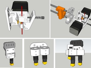 Dual & Triple Extruder (carriage)