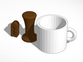printable coffee set