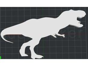 T-Rex 2D Wall Art