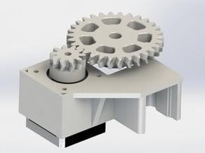 K8200 Z-axis gearing