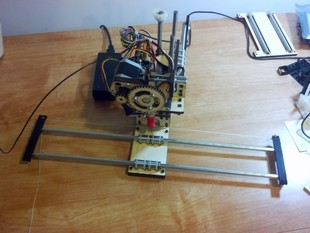 Printrbot Simple Extensible X-Axis