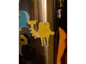 Vah Naboris Divine Beast Icon - Zelda BotW magnet