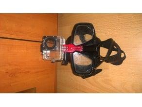 Sport CAM dive mask mount