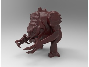 Stylized Rancor Beast