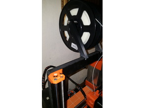 Prusa I3 Mk2 Dolly filament holder
