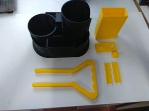 Matera 3D  Kit  con yerbero-Uruguay - Argentina
