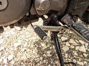Suzuki DL650 v-strom gear shift rubber replacement