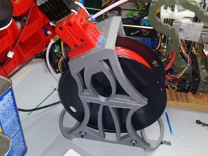 x2 Spool with Built in Bowden motor mount