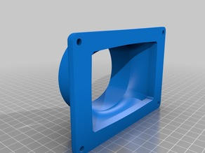 Rear Vent to 80mm Adapter for Anycubic Photon