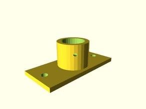 ED3 metal extruder wades extruder extension