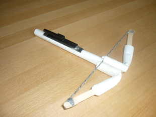 Paper Crossbow Trigger