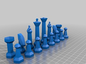 Parametric chess set