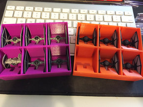 X-Wing Tie Fighter Squad Container