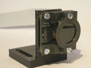 Raspberry Pi Camera v2.1 stand with filter holder