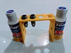 Shock Rebuild Stand for 1/10 Scale RC Cars