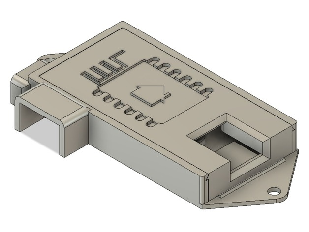 Humidature Sensor Case (D1 mini + DHT11) (espHome) by