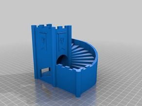 Stairs Dice Tower (remix)