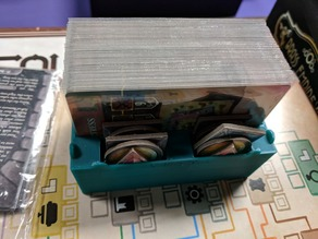 Founders of Gloomhaven organizer - Sleeve Friendly Components