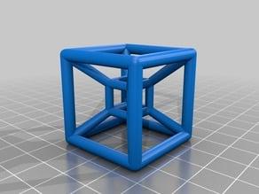 hypercube-lowpoly