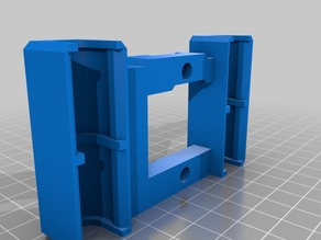 X axis carriage (single and dual) replacement for Replicator 1, 2 or clones (lm8suu and lm8uu)