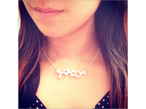 Luciferin Molecule Necklace