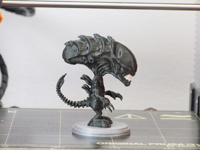 Cute Alien Xenomorph (multi-material remix)