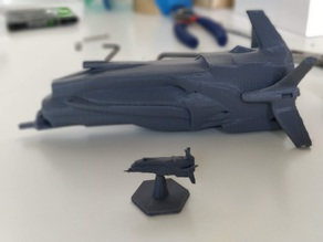 Spaceship - Kevolari Venture (Starfinder Mini)