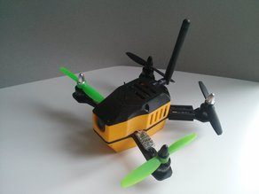 yellow bee 160 copter racer