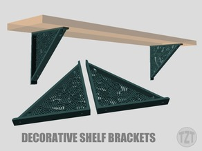 Decorative Shelf Bracket (Left and Right set)