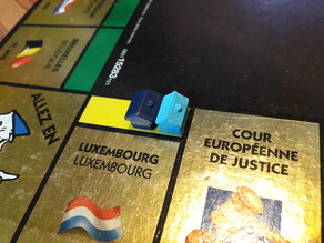 Monopoly Europe Spare Parts