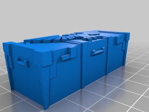 Wargame 40K ammo large size crate - 28mm