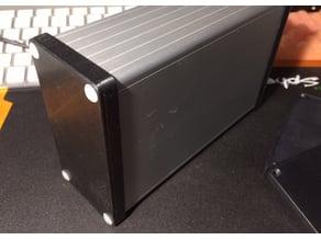 Hammond case 1455N1602 endcap simple