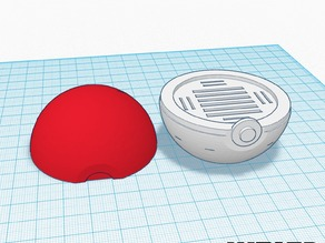 Pokemon Pokeball - SD Card Holder