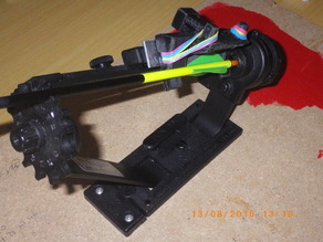 Helix RH clamp for BPE Pro arrow fletching jig (may suit other jigs as well)