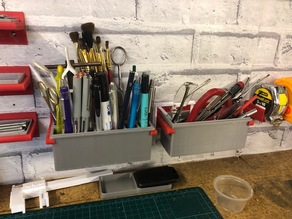 Small tool storage boxes