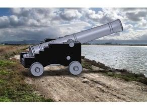 Cañón defensa costera