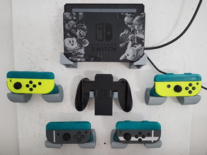 Nintendo Switch Joycon Grip Wallmount