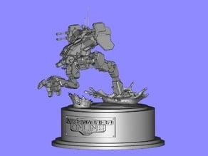 MechWarrior Online Locust Statue