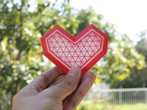 Lowpoly Heart Box